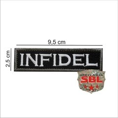 "Patch Tarja ""Infidel"" Infiel na internet"