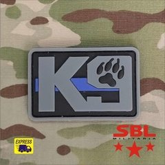 Patch Emborrachado destacamento cães K9 K-9 na internet