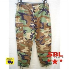 Calça Tática Militar Selva Woodland Original do US ARMY