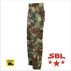 Calça Tática Militar Selva Woodland Original do US ARMY na internet