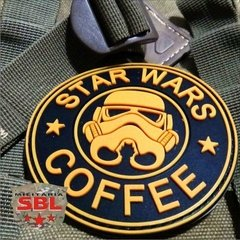 Funny Patch Emborrachado STAR WARS COFFEE na internet