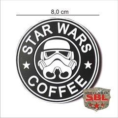 Imagem do Funny Patch Emborrachado STAR WARS COFFEE