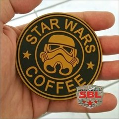 Funny Patch Emborrachado STAR WARS COFFEE - MILITARIA SBL
