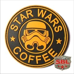 Funny Patch Emborrachado STAR WARS COFFEE - loja online