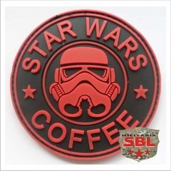 Funny Patch Emborrachado STAR WARS COFFEE - comprar online