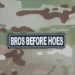 "Patch Tarja ""Bros Berfore Hoes"" - MILITARIA SBL"