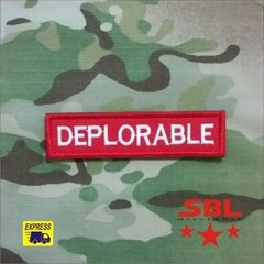 "Patch Tarja ""Deplorable"""