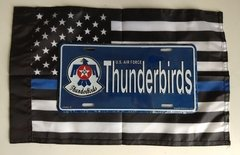 Lote Placa Decorativa Thunderbirds Grupamento de Jatos US Air Force na internet