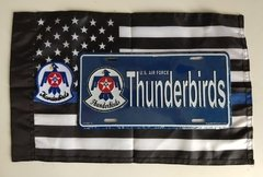 Lote Placa Decorativa Thunderbirds Grupamento de Jatos US Air Force - comprar online