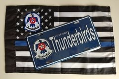 Lote Placa Decorativa Thunderbirds Grupamento de Jatos US Air Force