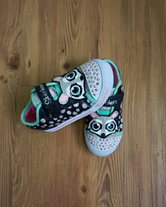 Tênis Twinkle Toes Raposa Skechers - Brechó CoolKids