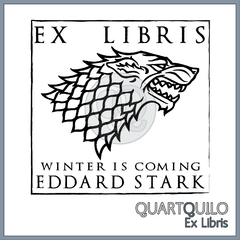 Ex libris Winter is coming
