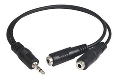 Cable Auxiliar Mini Plug 3.5 A 2 Hembras 3.5 en internet