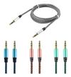 Cable auxiliar plug a plug 1mt colores