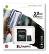 Memoria Micro Sd 32gb Kingston 100mb/s Clase 10 + Adaptador