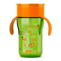 COPO NATURAL 340ML VERDE 12M+ - PHILIPS AVENT