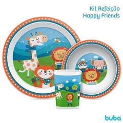 KIT REFEIÇÃO HAPPY FRIENDS - comprar online