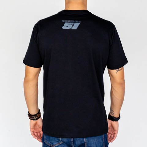T-Shirt EG Raio Black na internet