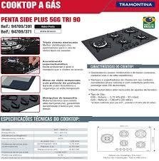 Cooktop Penta Side Plus 5Q tri 90 na internet