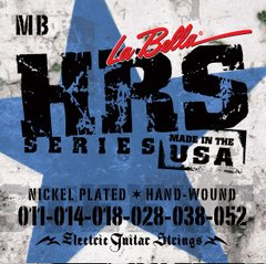 Encordoamento p/ Guitarra La Bella HRS-MB Nickel Rounds (.011 - .052)
