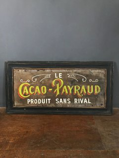 CARTEL LE CACAO PAYRAUD