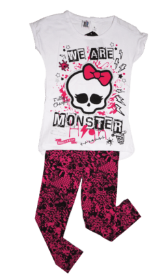 REMERA BARBIE MINNIE MONSTERS HIGH MINNIONS MANGA CORTA SUBLIMADA ROLFY - SURBABY
