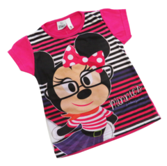 REMERA BARBIE MINNIE MONSTERS HIGH MINNIONS MANGA CORTA SUBLIMADA ROLFY - comprar online
