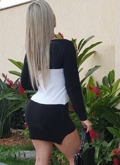 Dress Black White de linha - Stella Almeida