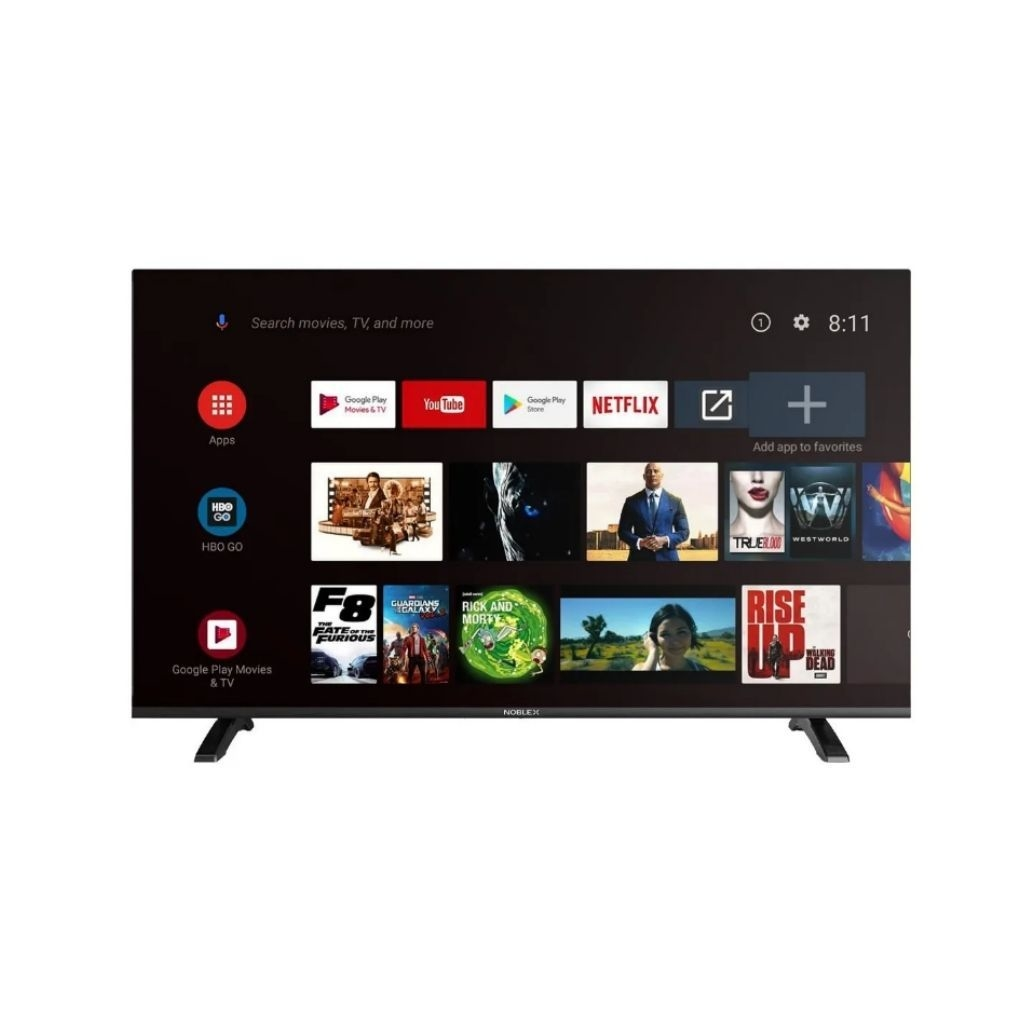 "SMART TV NOBLEX 43"" FULL HD CON ANDROID"