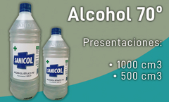 SANICOL - Alcohol al 70º / HASTA AGOTAR STOCK!