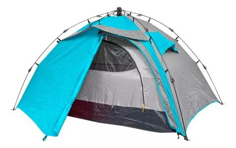 Carpa Automática 2 P Super Easy Outdoors Armado En 3 Seg