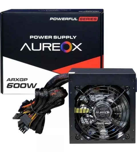 Fuente Pc Aureox Arxgp 600w Cooler 120mm