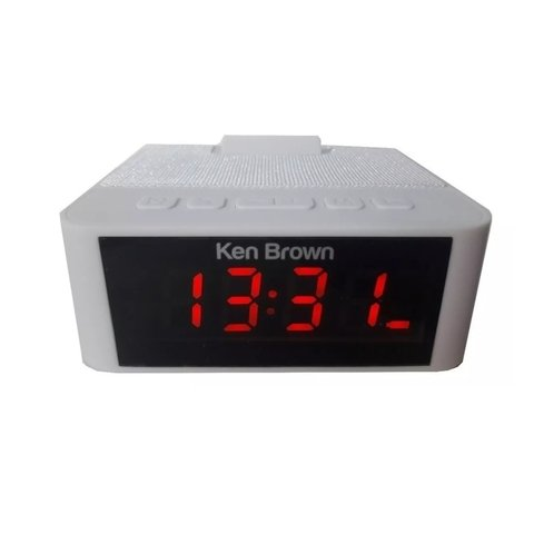 Radio Reloj Despertador Ken Brown Dx-595 Usb Fm Aux