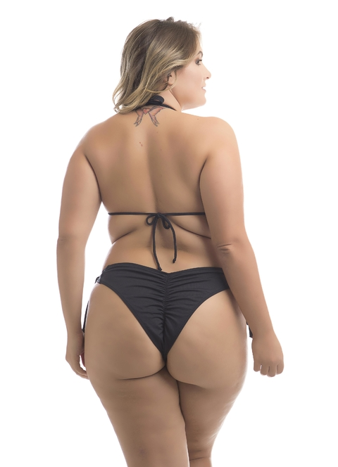 TOP CORTININHA AVULSO PRETO PLUS SIZE na internet