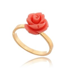 Charming flower arrangement ring set on internet