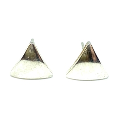 Triangulitos bombe de acero blanco de 8 mm