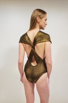 BODY RISQUE DOURADO COD 20597 - Samteshy