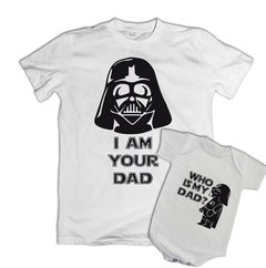 Conjunto Dia dos Pais Darth Father na internet