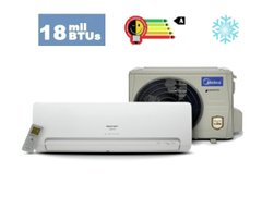 Split Inverter Midea Carrier - 18K BTUs Classe A