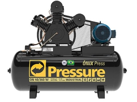 Ônix Press - 40/360 V - Pressure - 10HP - 360 Litros
