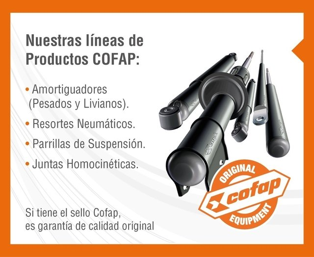 Kit 2 Amortiguadores Delanteros Golf 4 Bora New Beetle Cofap en internet