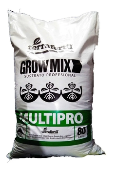 Sustrato Grow Mix Multipro 80 Lt.