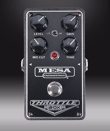 Mesa Boogie Throttle Box Pedal Hi Gain Distorsion