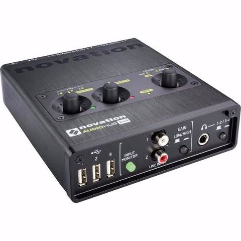 Placa Audio Novation Audiohub 2x4 Interfaz / Hub Usb Dj