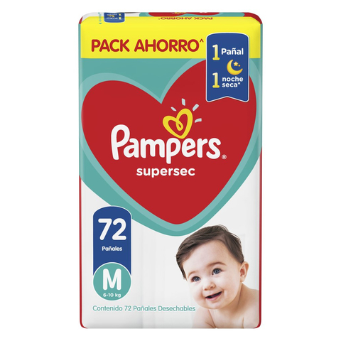 Pampers Supersec Pack Ahorro