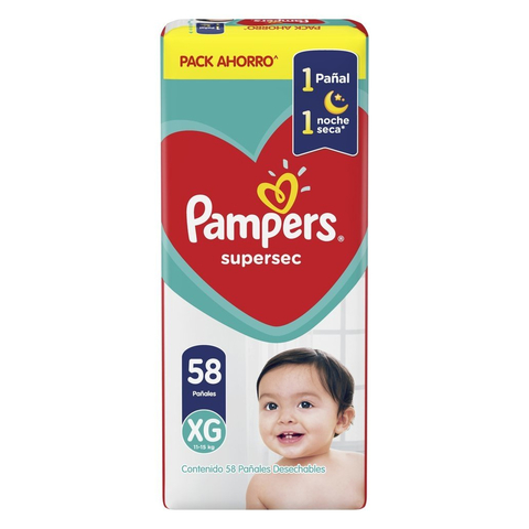 Pampers Supersec Pack Ahorro en internet