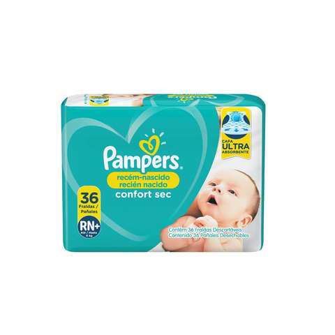 Pampers RN+ Confort x36