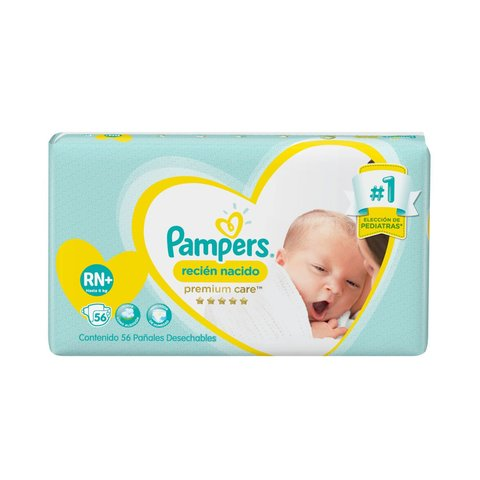 Pampers Premium Care Recién Nacido RN+ x56u