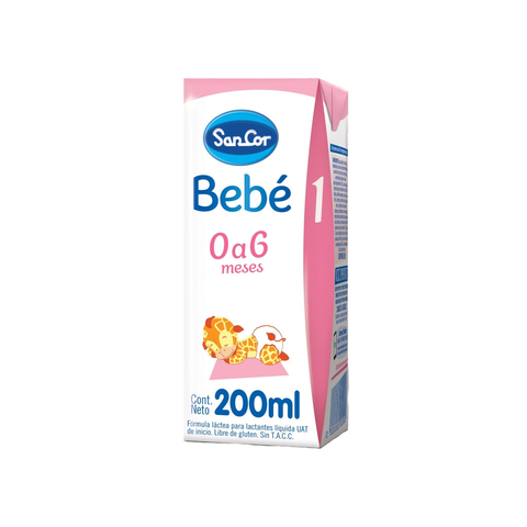 Sancor Bebe 1 Liquida x 200 ml