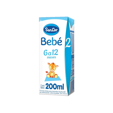 Sancor Bebe 2 Liquida x 200 ml